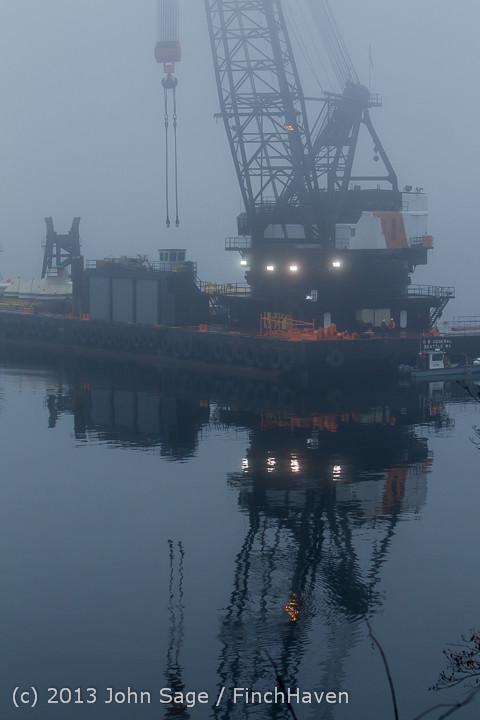 1599 DB General Crane visits Dockton 102413
