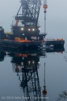 1642 DB General Crane visits Dockton 102413