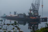 1643 DB General Crane visits Dockton 102413