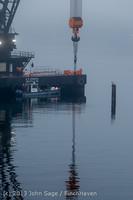 1691 DB General Crane visits Dockton 102413