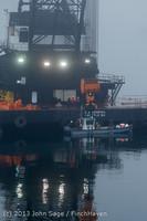 1697 DB General Crane visits Dockton 102413