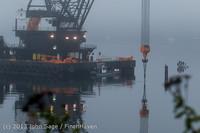 1705 DB General Crane visits Dockton 102413