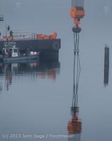1750 DB General Crane visits Dockton 102413