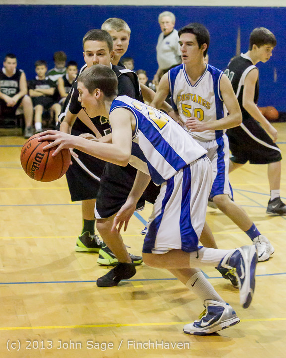 4553 McM Boys Varsity Basketball v Klahowya 121213