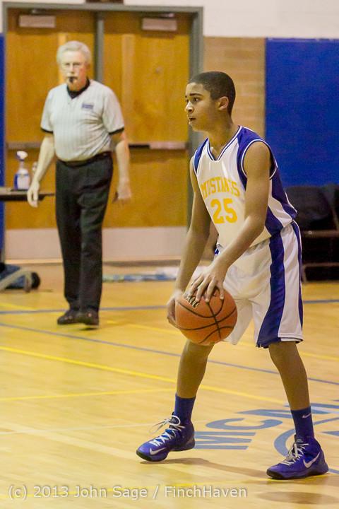 4704 McM Boys Varsity Basketball v Klahowya 121213