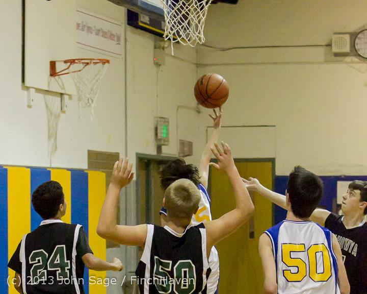 4780 McM Boys Varsity Basketball v Klahowya 121213