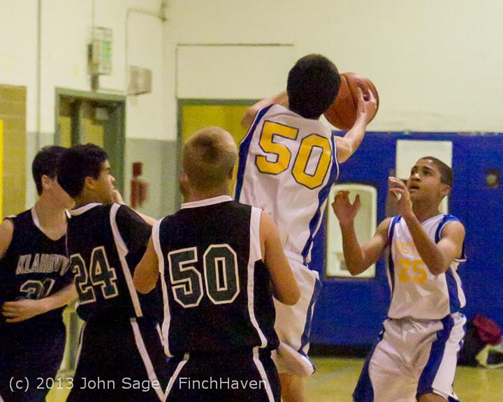 4785 McM Boys Varsity Basketball v Klahowya 121213