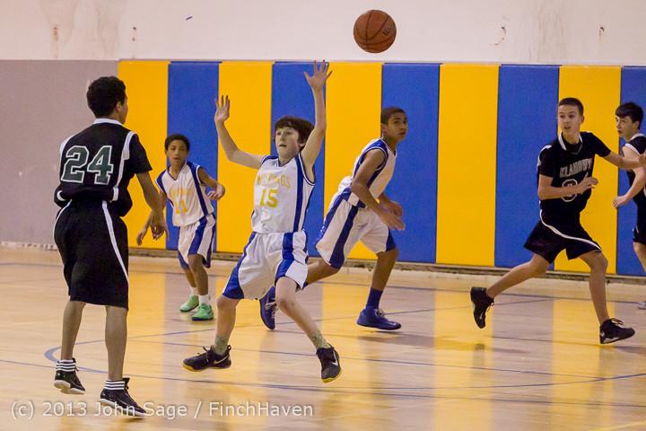 4839 McM Boys Varsity Basketball v Klahowya 121213