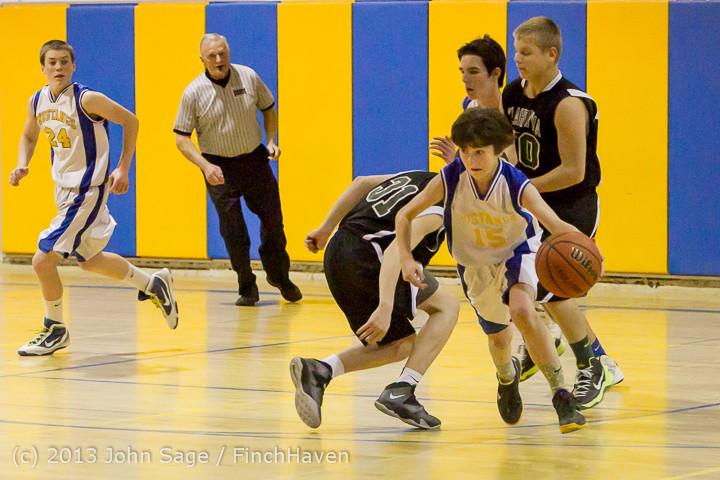 4865 McM Boys Varsity Basketball v Klahowya 121213