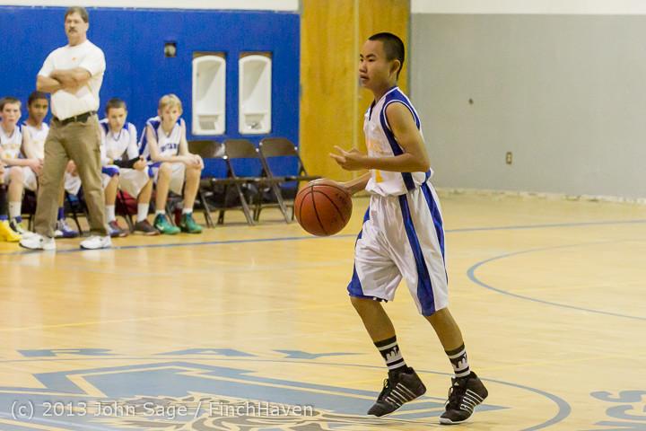 4918 McM Boys Varsity Basketball v Klahowya 121213