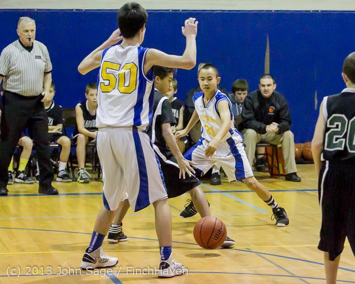 4942 McM Boys Varsity Basketball v Klahowya 121213