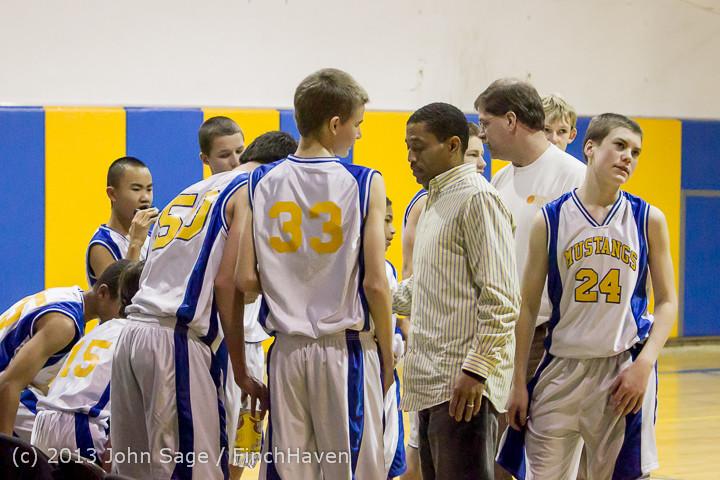 4987 McM Boys Varsity Basketball v Klahowya 121213