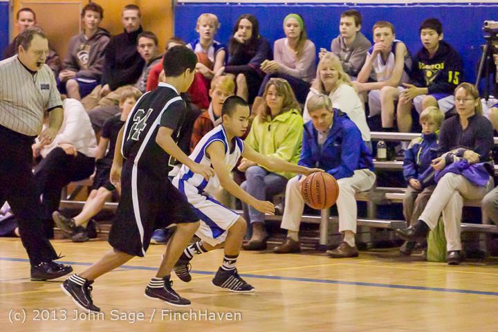 5003 McM Boys Varsity Basketball v Klahowya 121213