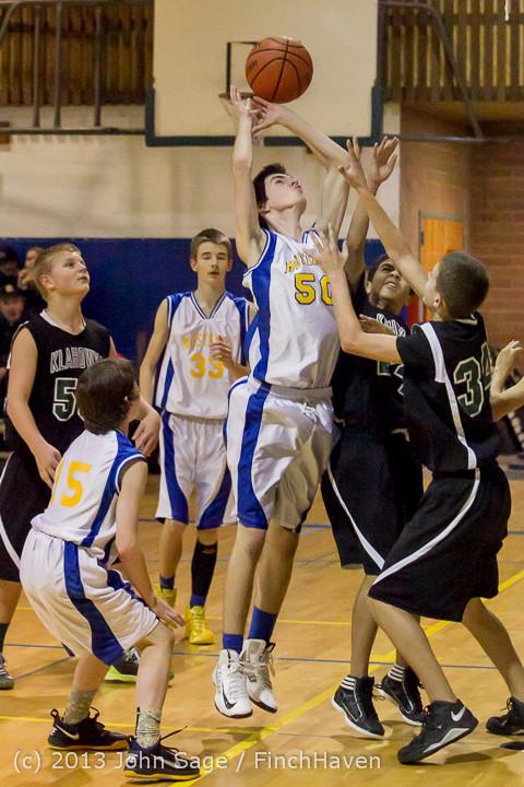 5273 McM Boys Varsity Basketball v Klahowya 121213