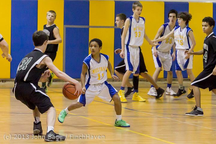 5299 McM Boys Varsity Basketball v Klahowya 121213