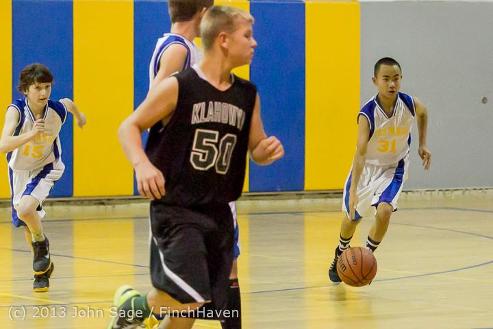 5304 McM Boys Varsity Basketball v Klahowya 121213