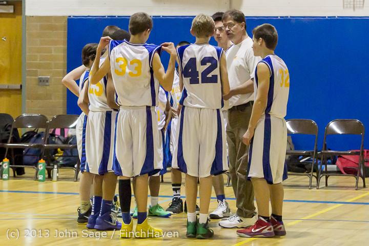 5399 McM Boys Varsity Basketball v Klahowya 121213