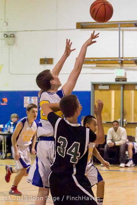 5475 McM Boys Varsity Basketball v Klahowya 121213
