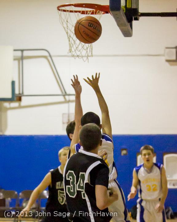 5568 McM Boys Varsity Basketball v Klahowya 121213