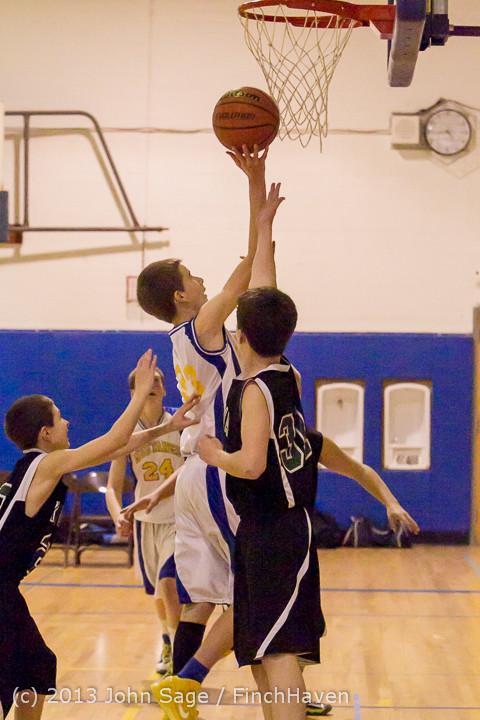 5643 McM Boys Varsity Basketball v Klahowya 121213