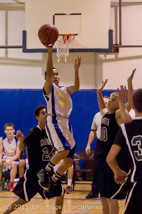 5673 McM Boys Varsity Basketball v Klahowya 121213
