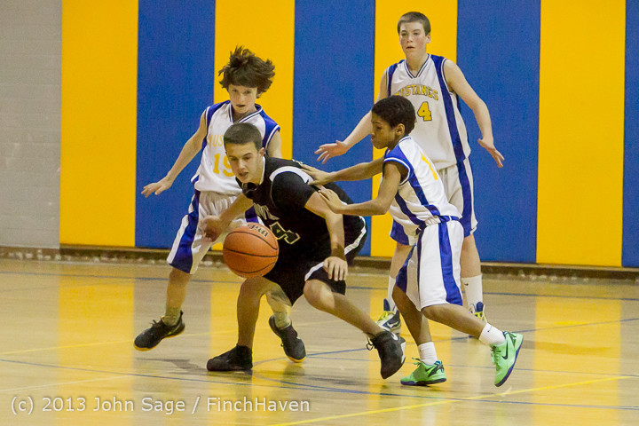 5803 McM Boys Varsity Basketball v Klahowya 121213