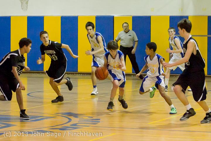 5897 McM Boys Varsity Basketball v Klahowya 121213