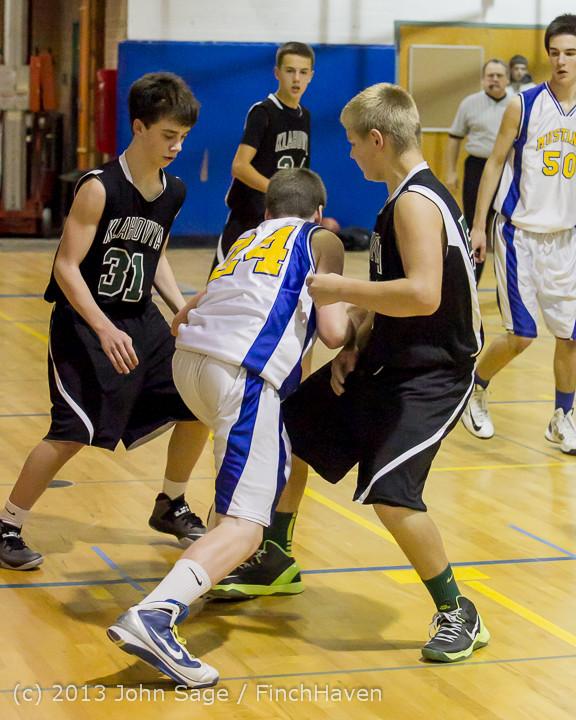5950 McM Boys Varsity Basketball v Klahowya 121213