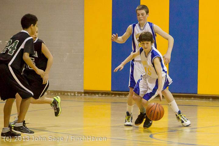 6091 McM Boys Varsity Basketball v Klahowya 121213