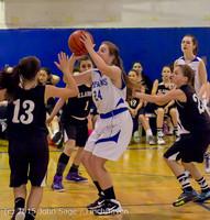 1263 McM Girls Varsity Basketball v Klahowya 031215