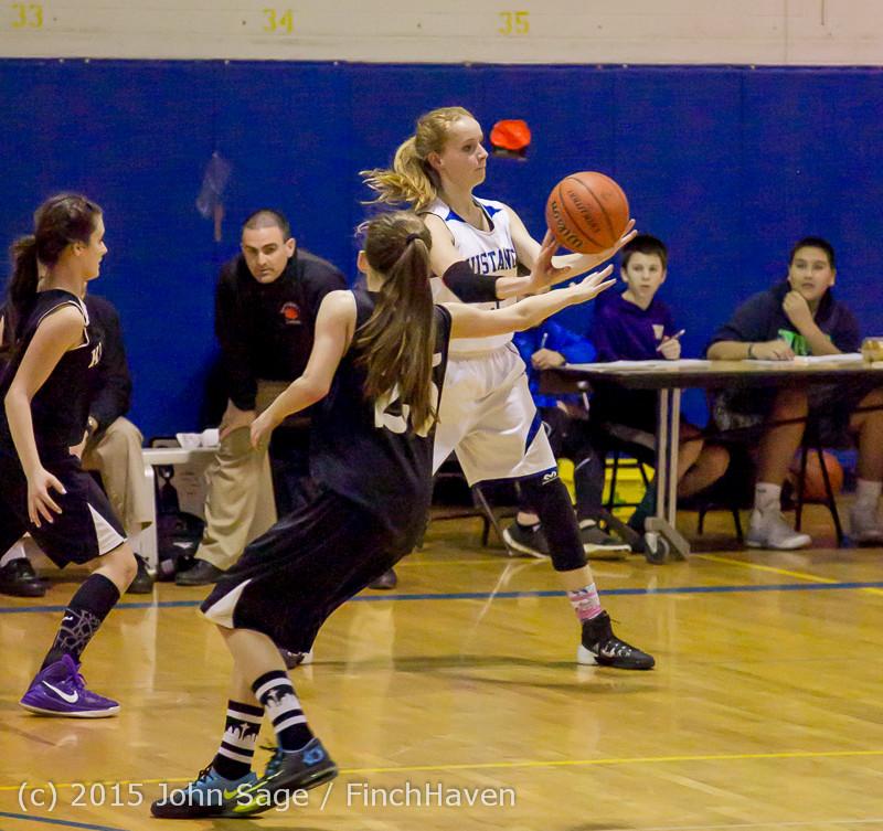 2520 McM Girls Varsity Basketball v Klahowya 031215