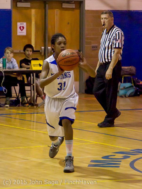 2521 McM Girls Varsity Basketball v Klahowya 031215