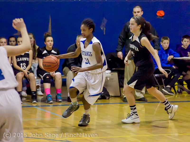 2532 McM Girls Varsity Basketball v Klahowya 031215