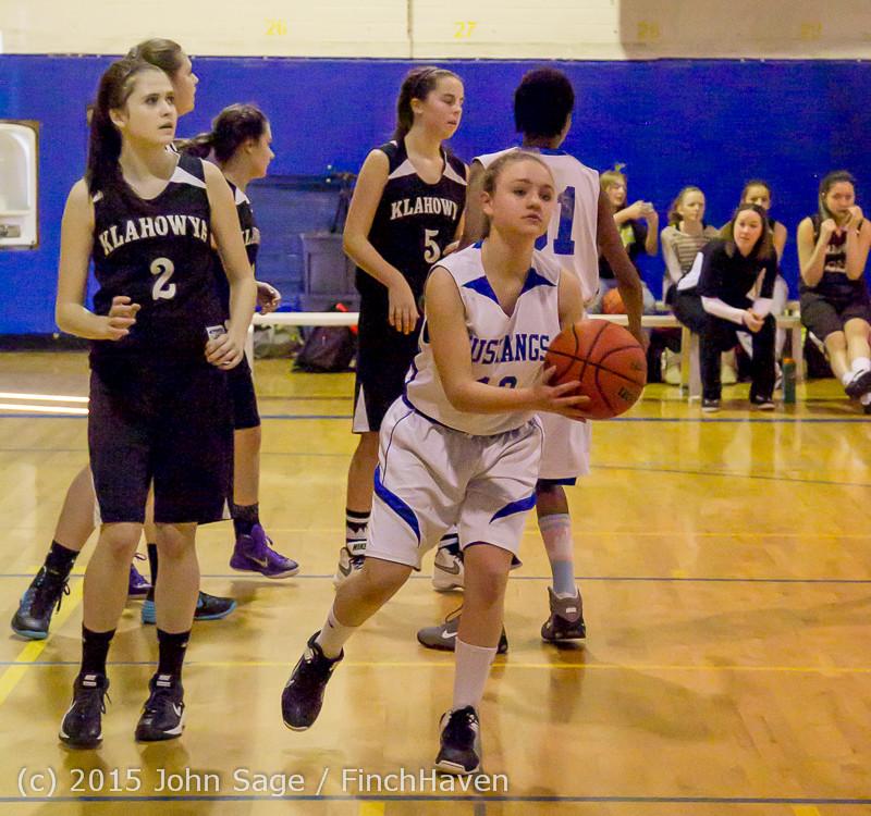 2553 McM Girls Varsity Basketball v Klahowya 031215