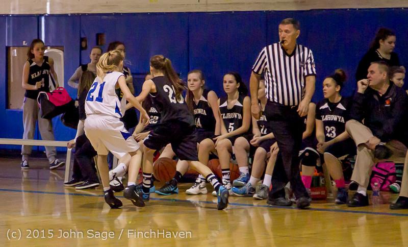 2604 McM Girls Varsity Basketball v Klahowya 031215