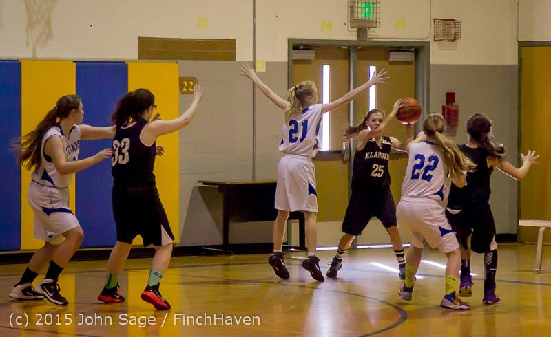 2610 McM Girls Varsity Basketball v Klahowya 031215