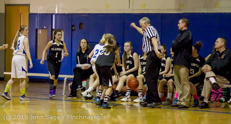 2614 McM Girls Varsity Basketball v Klahowya 031215
