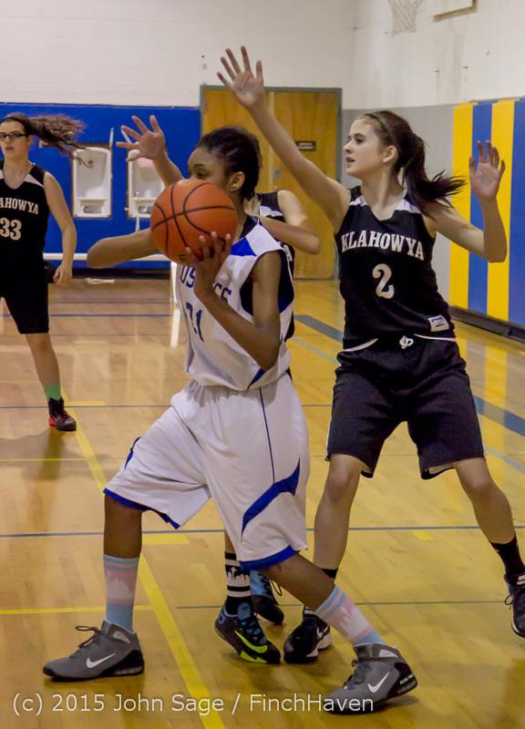 2668 McM Girls Varsity Basketball v Klahowya 031215
