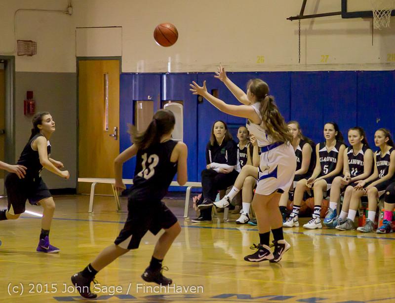 2672 McM Girls Varsity Basketball v Klahowya 031215