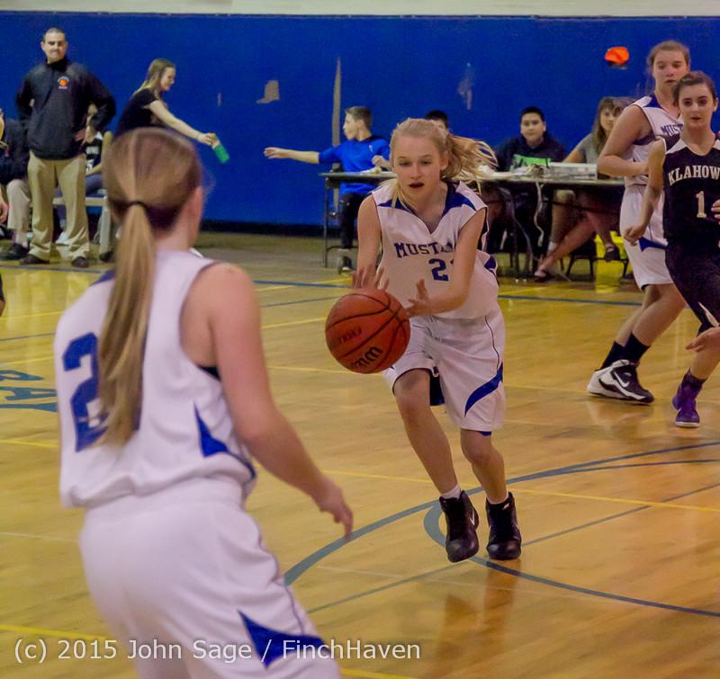 2681 McM Girls Varsity Basketball v Klahowya 031215