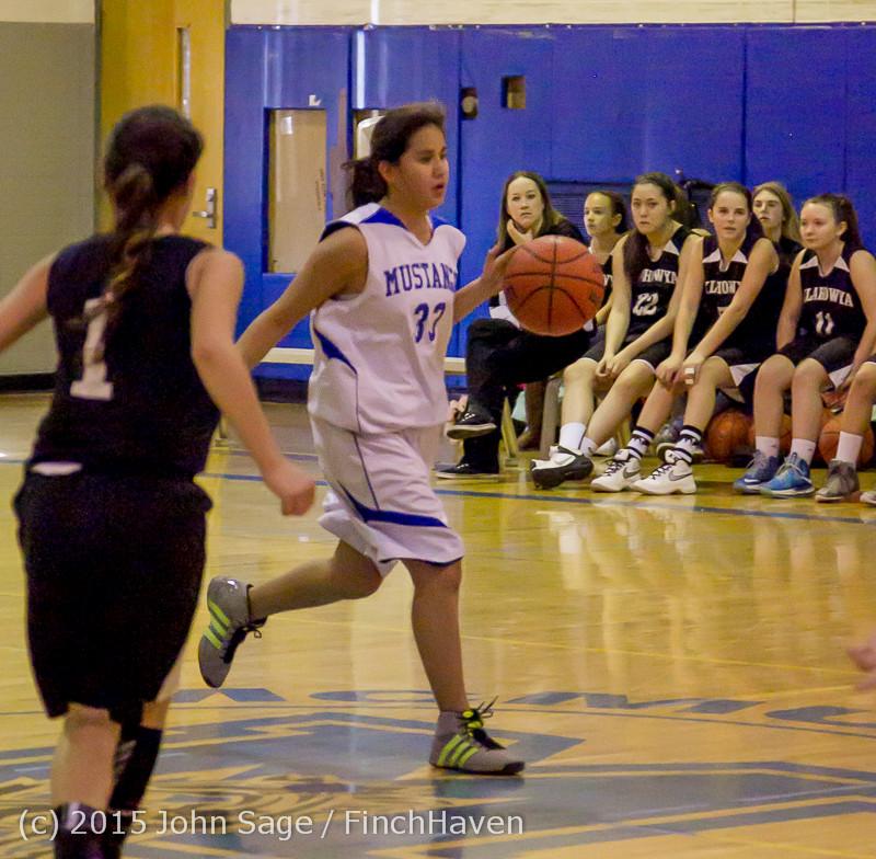 2733 McM Girls Varsity Basketball v Klahowya 031215