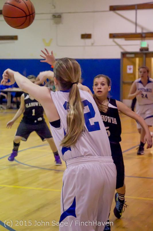2748 McM Girls Varsity Basketball v Klahowya 031215