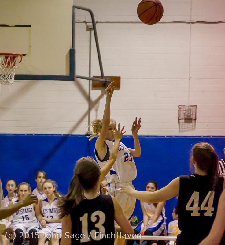2810 McM Girls Varsity Basketball v Klahowya 031215
