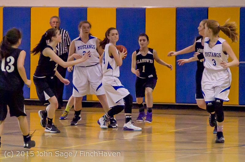 2927 McM Girls Varsity Basketball v Klahowya 031215