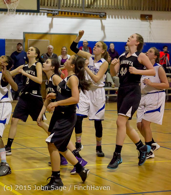 2964 McM Girls Varsity Basketball v Klahowya 031215