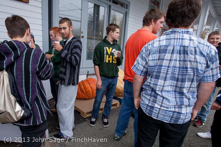 8482 VHS Football guts pumpkins 101913