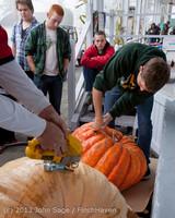 8503 VHS Football guts pumpkins 101913