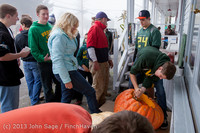 8532 VHS Football guts pumpkins 101913