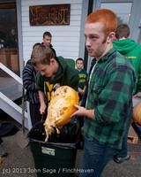 8539 VHS Football guts pumpkins 101913
