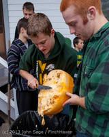 8540 VHS Football guts pumpkins 101913